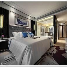 精美面积97平现代三居卧室实景图片大全