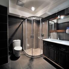 精美111平米欧式别墅卫生间装饰图片