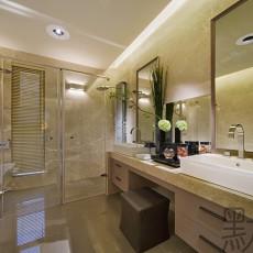 精美127平米四居卫生间现代效果图片