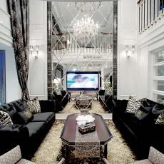 精选143平米现代别墅客厅装修实景图