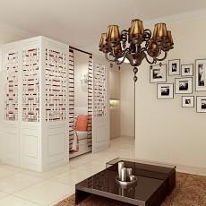精美面积79平小户型客厅现代效果图片大全