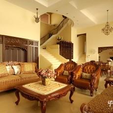 精选120平米美式别墅客厅装修图片