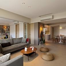 热门现代四居客厅装修效果图