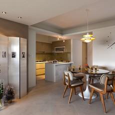 精选142平米四居餐厅现代装修设计效果图片欣赏