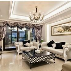 2018精选面积76平欧式二居客厅装修图片
