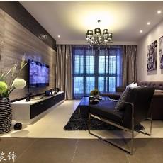 现代客厅电视背景墙效果图大全