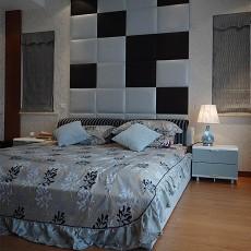 2018精选面积81平现代二居卧室装修设计效果图片