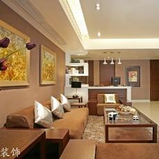 精美面积72平现代二居客厅设计效果图