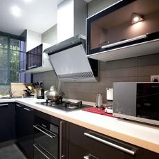 现代小厨房装修效果图大全2013图片