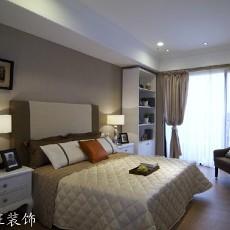 2018精选面积74平现代二居卧室装修设计效果图片欣赏