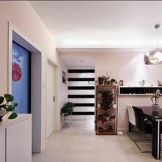 精美76平米二居餐厅现代装修欣赏图片大全