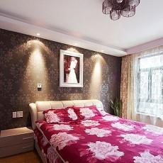 精美86平米二居卧室现代装修图片大全