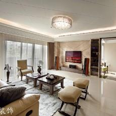 精选面积72平简约二居客厅效果图片欣赏