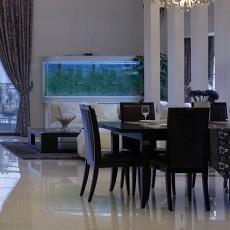 精美面积92平现代三居餐厅装修设计效果图片大全