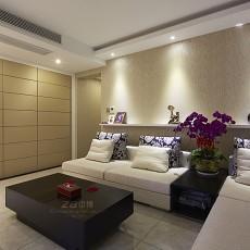 精选面积131平现代四居客厅欣赏图