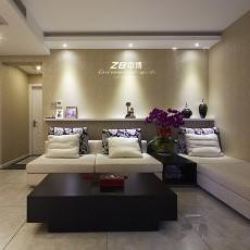 123平方四居客厅现代效果图片