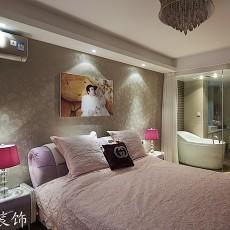 2018精选85平米现代小户型卧室装修实景图片