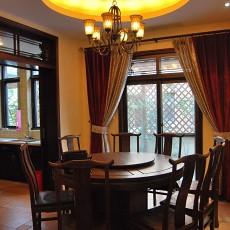 精选二居餐厅中式效果图片