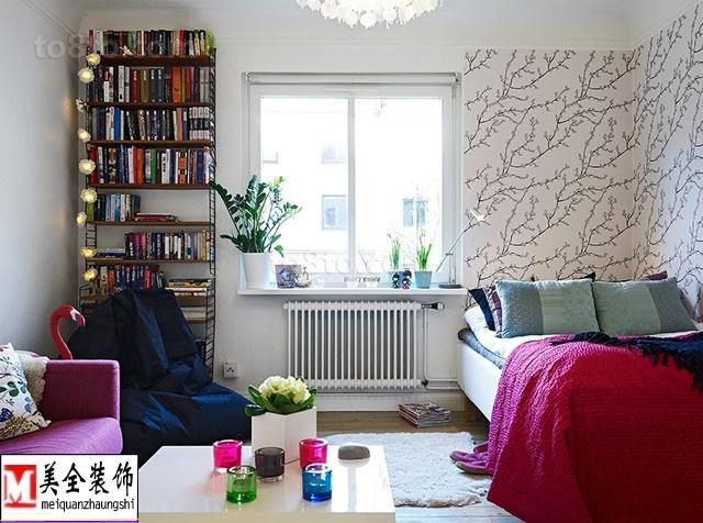 精选87平米欧式小户型卧室装饰图片