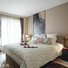 2018精选71平米二居卧室现代装修效果图片大全