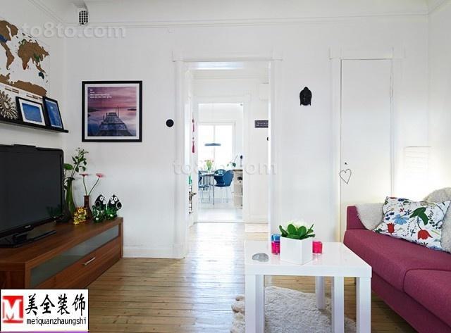 2018精选欧式小户型客厅装修设计效果图