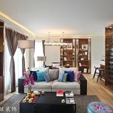 2018精选面积78平现代二居客厅装修图片