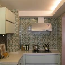 小户型厨房马赛克瓷砖效果图