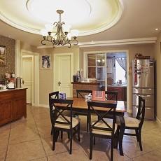 精美面积81平美式二居餐厅装修图片