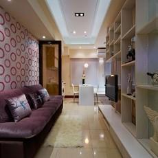 精选小户型客厅现代装修设计效果图