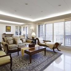 热门二居客厅美式装修设计效果图
