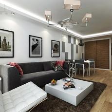 精美现代四居客厅装修设计效果图片欣赏