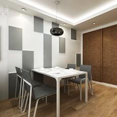 精选面积112平现代四居餐厅装修图