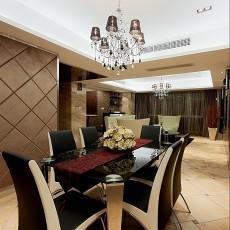 热门现代二居餐厅实景图