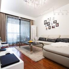 精选面积72平现代二居客厅设计效果图