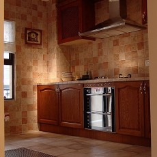 美式风格厨房设计效果图
