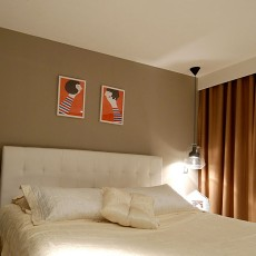 精选大小109平现代三居卧室装修欣赏图片