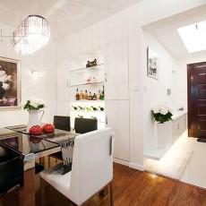 精选90平米二居餐厅现代装修图片欣赏