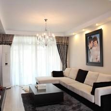 精选75平米现代小户型客厅效果图