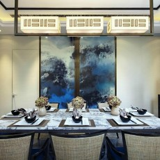 精选二居餐厅中式装修效果图
