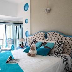 热门75平米二居卧室地中海装修设计效果图片