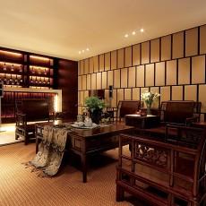 95平米三居客厅中式装修设计效果图片