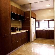 实木橱柜厨房门装修效果图