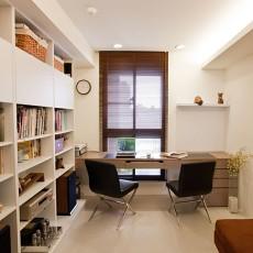 简约双人书房装修效果图