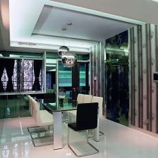 102平米三居餐厅现代欣赏图片大全