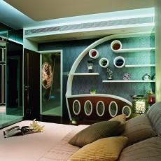 精选105平米三居卧室现代装修欣赏图片大全