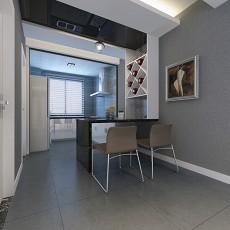2018面积83平现代二居厨房设计效果图