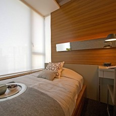 201883平米二居卧室现代装修效果图片
