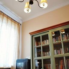 精选76平米欧式小户型书房实景图片欣赏