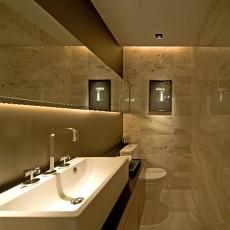 热门现代小户型卫生间装修设计效果图片欣赏