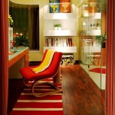 精美面积73平现代二居书房效果图片大全
